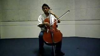 Bach - Gigue da  Suite em G maior para Violoncelo  - Felipe De Luna