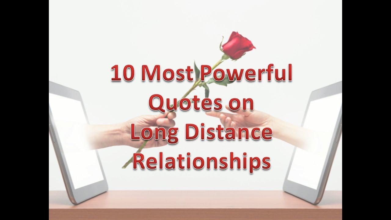 10 Life Saving Quotes/Tips For Anyone In A Long Distance ...