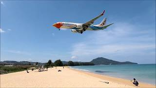 [HKT] Phuket International Airport Landing