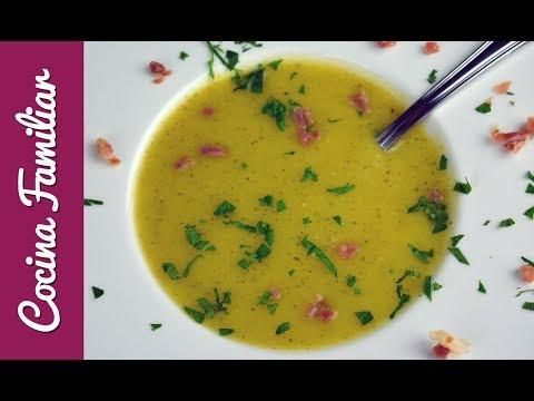 Crema de verduras, recetas para dieta, recetas sanas y nutritivas | Recetas de Javier Romero