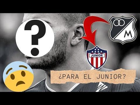 ¿Jugador Insignia De Millonarios Se Va Para El Junior De Barranquilla? 😱