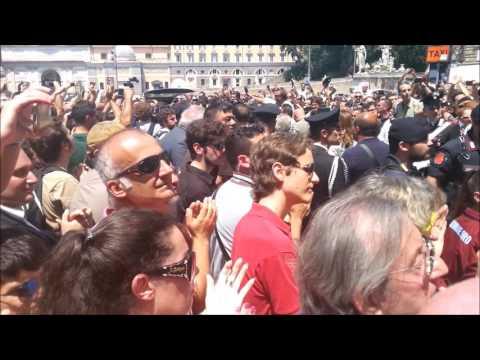 Bud Spencer Funerale Beerdigung Burial, Temetése Funeral 30.06.16 Roma Rom Rome