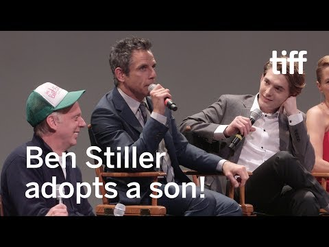 Ben Stiller Adopted Austin Abrams Just Don't Tell His Parents  TIFF 2017