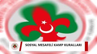 SOSYAL MESAFELİ KAMP KURALLARI