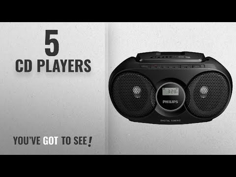 Top 10 Cd Players [2018]: Philips AZ215B Portable CD Player with Radio, Jack (3.5 mm), Compact -