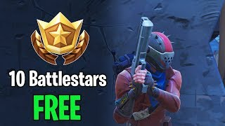 Fortnite: Battle Royale GRATIS 10 battlestars week 1 seizoen 4