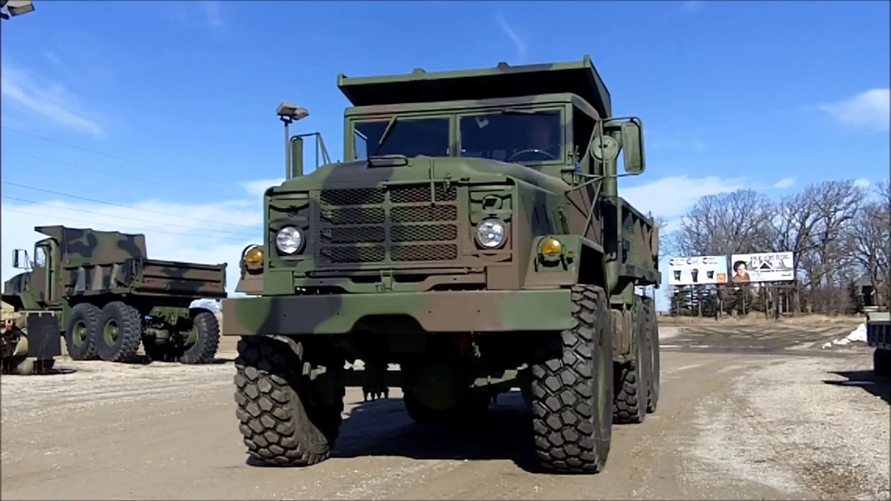 m929 6x6 military dump truck d 300 90 for sale at youtube. Black Bedroom Furniture Sets. Home Design Ideas