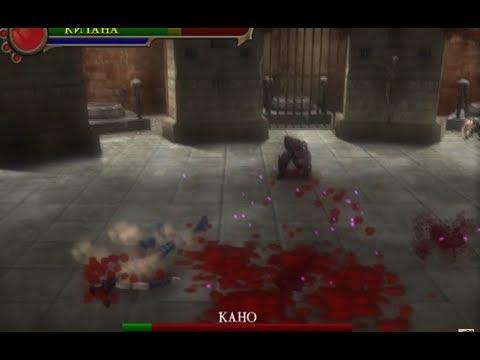 Mortal Kombat: Shaolin Monks (PS2) Kitana vs Kano (Story Mode)