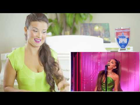 Vocal Coach Reacts to Ariana Grande - The Wizard And I A very Wicked Halloween