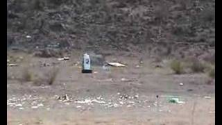 Tannerite And A Water Cooler In The Phoenix Desert