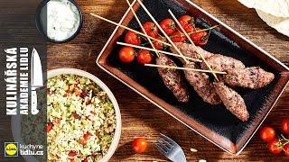 Jehněčí kebab - Roman Paulus - Kulinářská Akademie Lidlu
