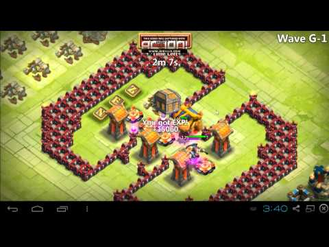 Castle Clash - RF: HBM G, With 3 Heroes, No TG