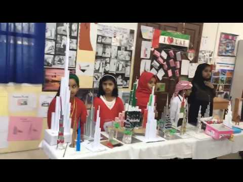 My UAE My Identity Exhibition with Arabic Song (DHIS AlAin)