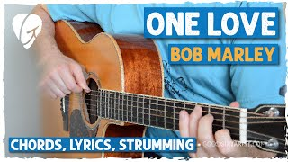 """How to play """"One Love"""" by Bob Marley"""
