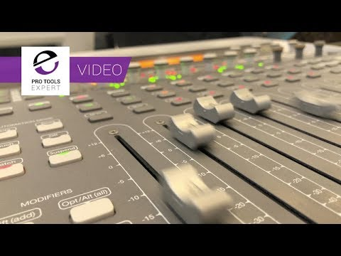 The Best Mixing Control Surface For Pro Tools