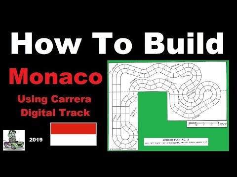 How to build a 1/32 scale Carrera Monaco Race Track