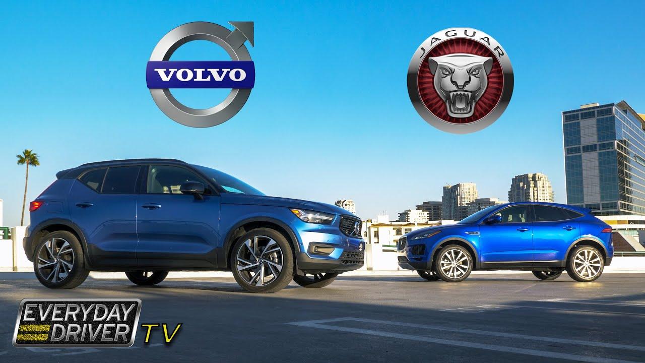 Volvo XC40 vs Jaguar E-Pace Comparison - Luxury CUVs - TV Season 4 Ep 6 | Everyday Driver