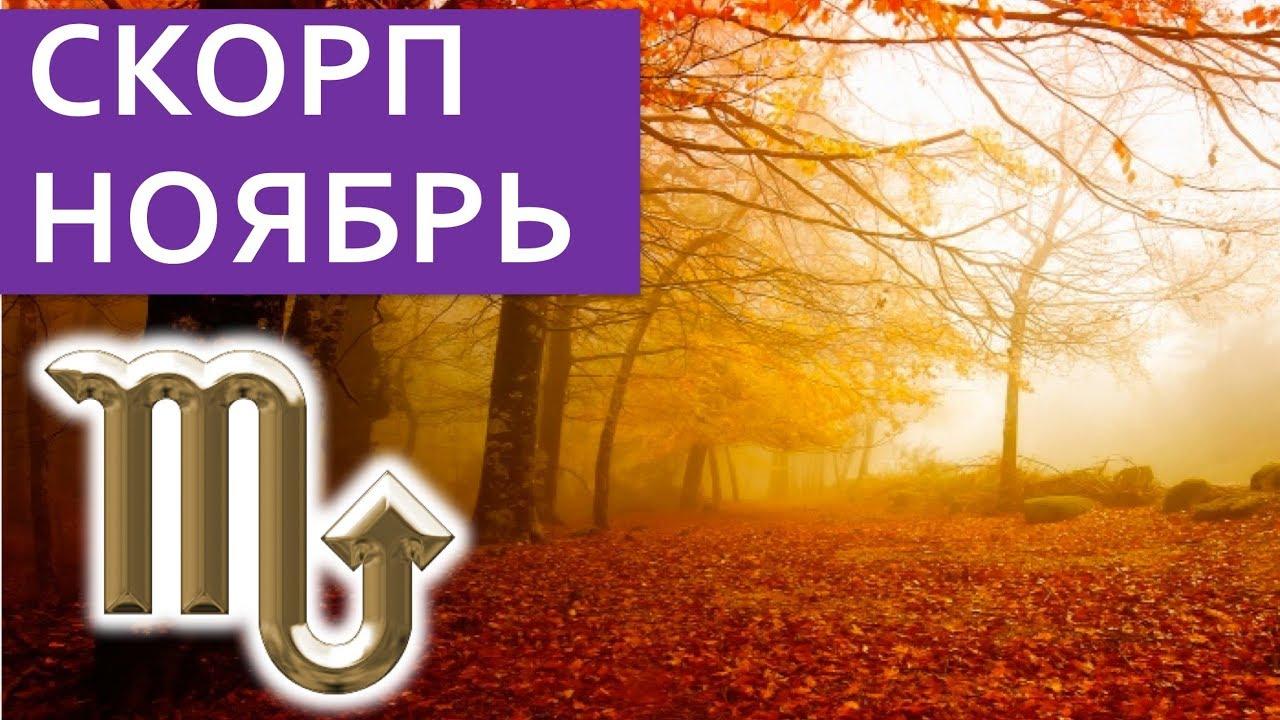 СКОРПИОН на НОЯБРЬ гороскоп 2018 / Астропрогноз Павел Чудинов