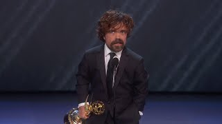 Download 70th Emmy Awards: Peter Dinklage Wins For Outstanding Supporting Actor In A Drama Series Mp3 and Videos