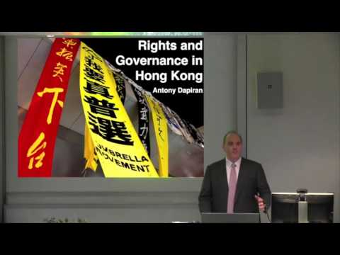 ALC Seminar: Tolerance and Rights in Asia Hong Kong and Taiwan