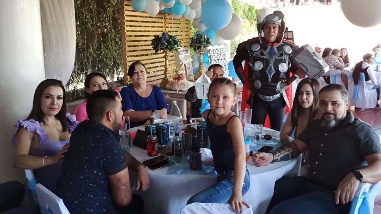 Thor fiestas infantiles para niños