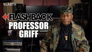 Professor Griff on Flavor Flav Doing Crack During Anti-Crack Video Shoot (Flashback)