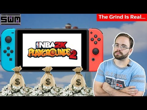 NBA 2K Playgrounds 2 - Microtransactions And Grind Edition