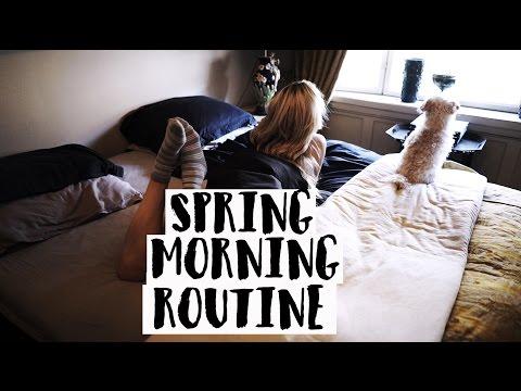 My Spring Morning Routine | Cornelia