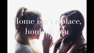 Home Is You | Megan & Liz | Lyric Video