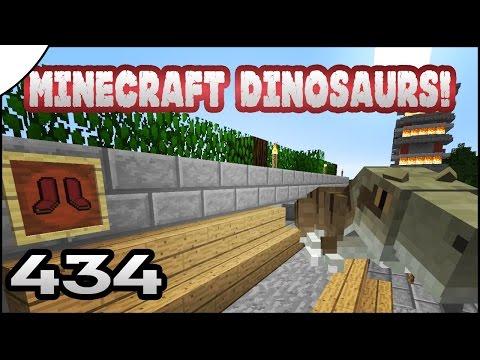 Minecraft Dinosaurs! || 434 || Finish Stocking