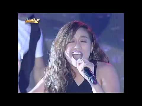 Morissette Amon own version of Emotion live in It's Showtime