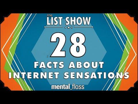 28 Facts about Internet Sensations - mental_floss List Show Ep. 504