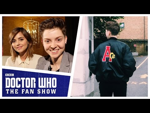 Jenna Coleman on what it takes to be a companion - Doctor Who: The Fan Show