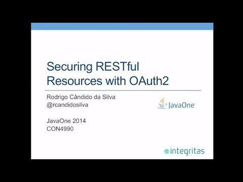 Securing RESTful Resources with OAuth2
