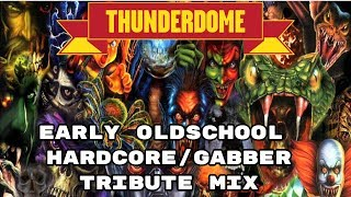 Thunderdome Tribute Early Classic Hardcore Techno/Gabber Megamix 90s full album!
