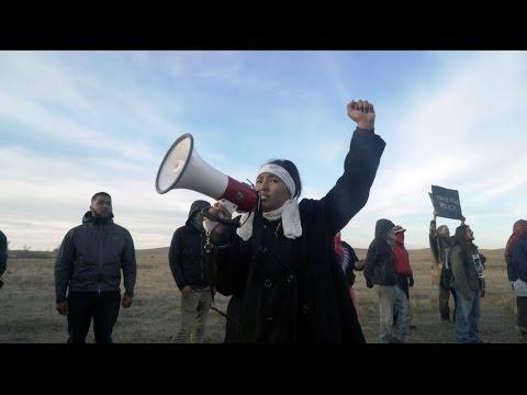 Police Viciously Attack Peaceful Protestors at the Dakota Access Pipeline