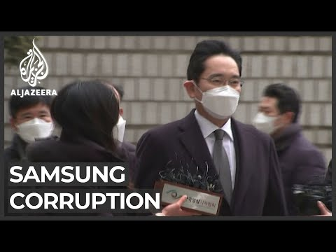 Samsung head jailed for bribery, corruption