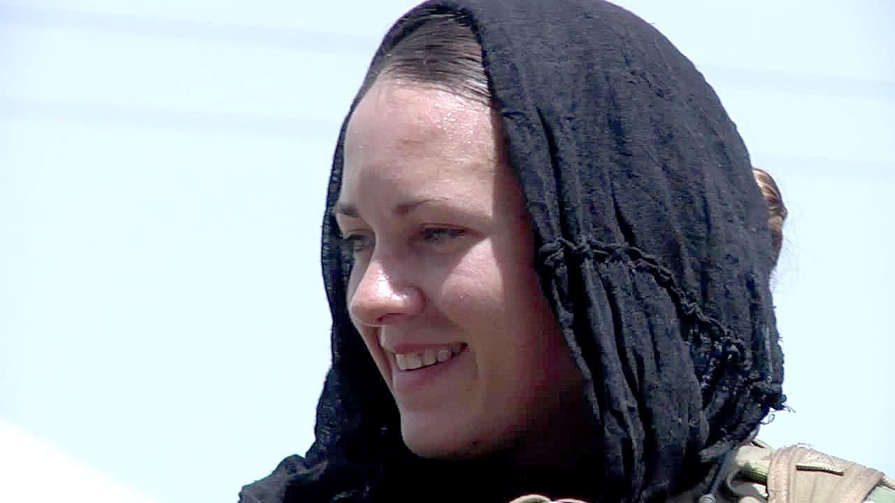 U.S. Army Female Soldiers in Afghanistan