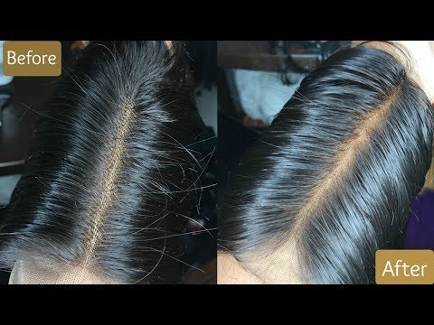 How To Bleach Your Knots On A Closure: Africana Style 🔥✨| Young Africana