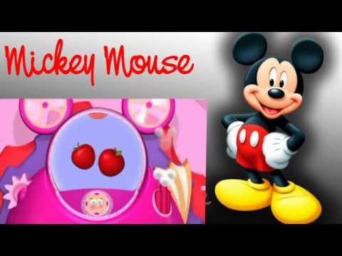 La casa de mickey mouse la exhibici n de mo os de invierno - Casa de minnie mouse ...