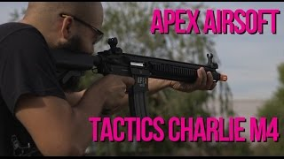 Apex Tactics Charlie M4 Airsoft AEG - AirSplat on Demand