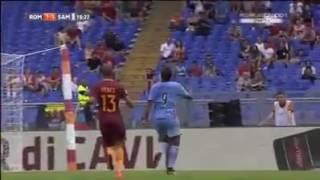 Roma vs Sampdoria 3-2    Comment Carlo Zampa  