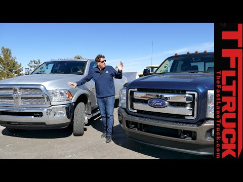 2015 Ford F 350 Vs Ram 3500 Mpg Review Part 2 Youtube