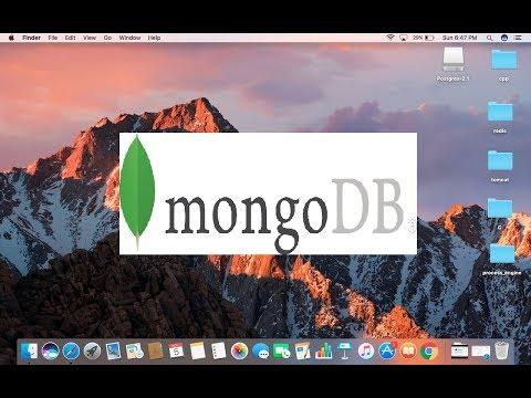 How to install MongoDB on Mac OS X