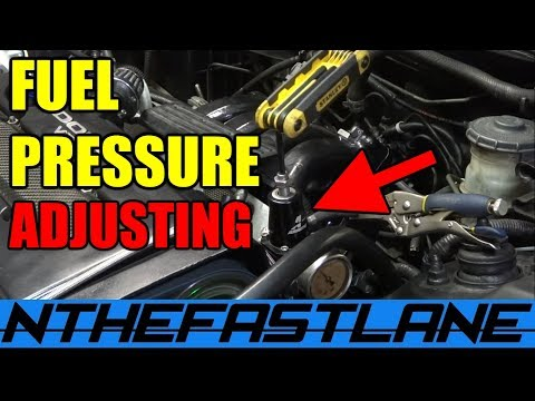 """Adjusting A Fuel Pressure Regulator """"How To"""" ⛽️"""