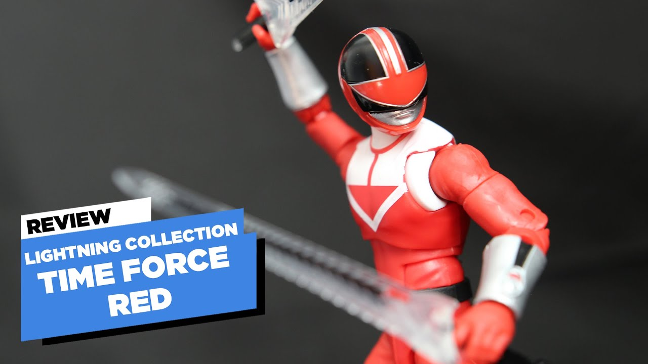 Hasbro Power Rangers Lightning collection Time Force Red Ranger FIGURE NEW