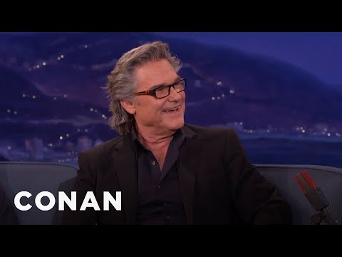 A Hungover Kurt Russell Wooed Goldie Hawn   CONAN on TBS