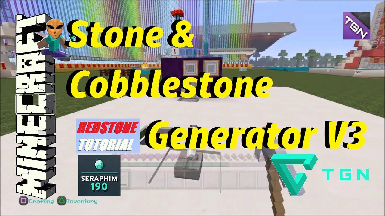 how to make infinite cobblestone generator