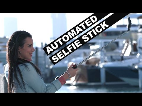 Watch Noa Lindberg Play With The First Automated Selfie Stick via UnREAL
