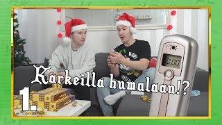 TAAS MENNÄÄN!! | Haastekalenteri 2018 Luukku 1